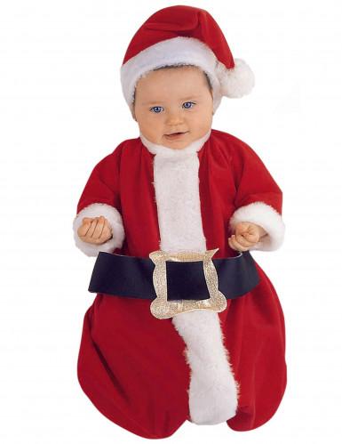 Luxus Weihnachtsmann Kostüm für Baby