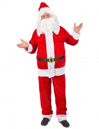 Hochwertiges Weihnachtsmann Kostüm für Erwachsene