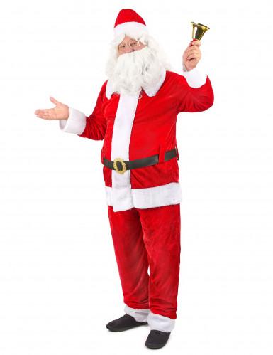 Hochwertiges Weihnachtsmann Kostüm für Erwachsene-1