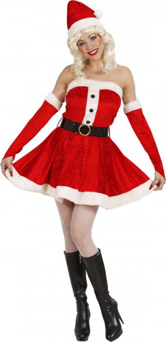 Miss Santa Kostüm für Damen