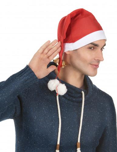 Santa Claus Schellenmütze XXL für Erwachsene-1
