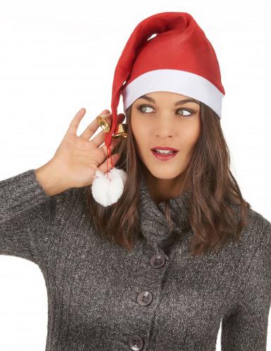 Santa Claus Schellenmütze XXL für Erwachsene-2