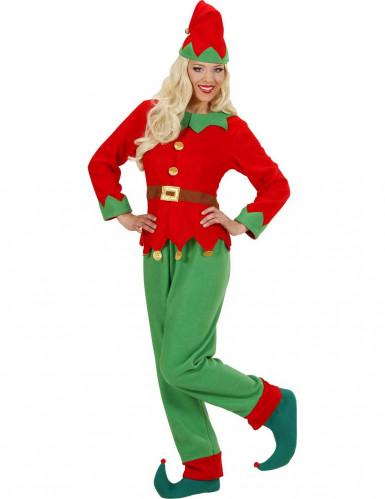 Weihnachtswichtel Kostüm für Damen