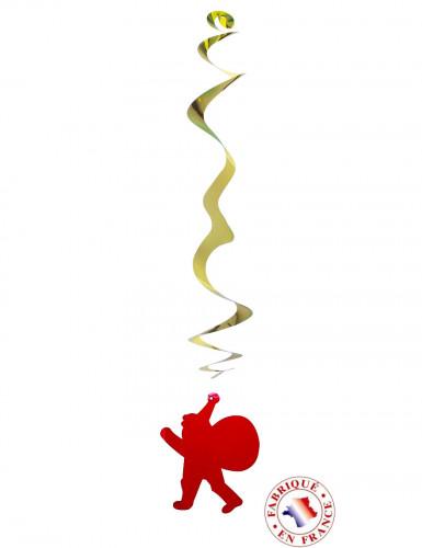 Weihnachtsmann-Dekoaufhänger feuerfest