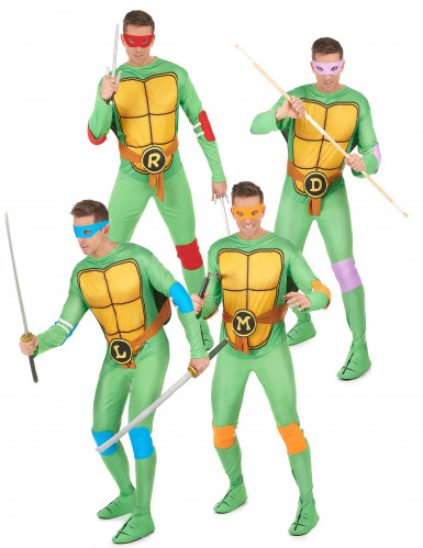 Ninja Turtles™ - Gruppen Kostüm