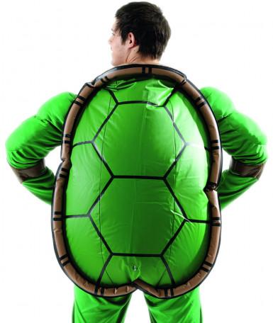 Ninja Turtle™ Kostüm für Erwachsene mit Panzer - Deluxe-1