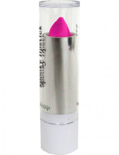 Neon-Lippenstift Make-Up pink