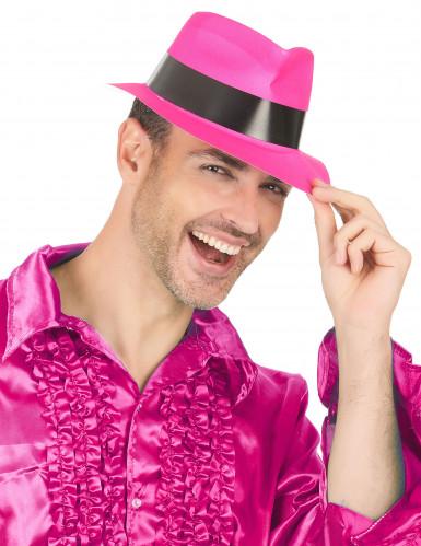 Party Hut neonpink für Erwachsene-2
