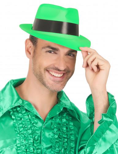 Party Hut neongrün für Erwachsene-2
