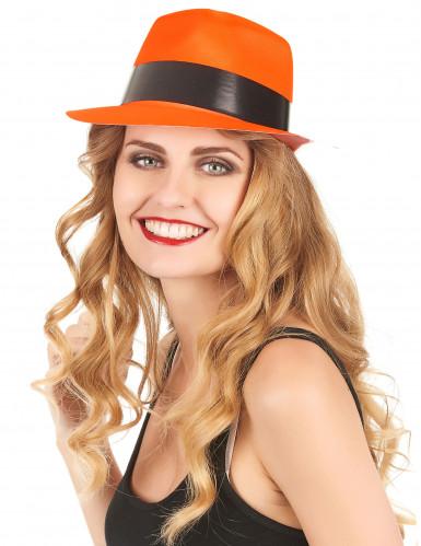Party Hut neonorange für Erwachsene-1