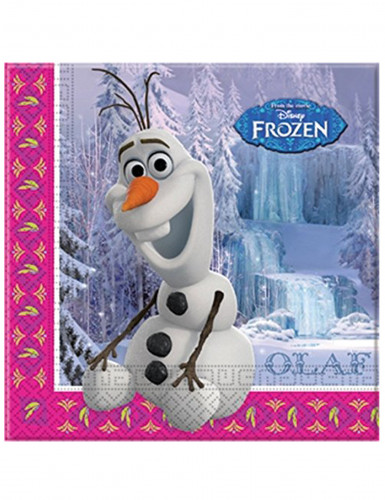 20 Servietten Olaf aus Die Eiskönigin™
