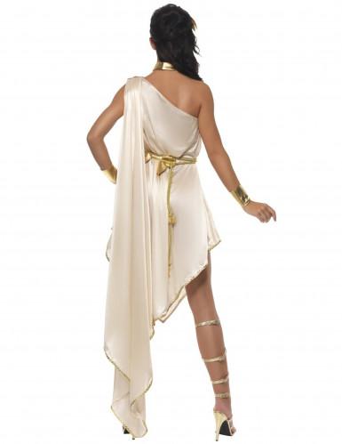 Beige Göttin Kostüm für Damen-1