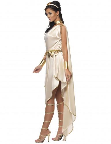 Beige Göttin Kostüm für Damen-2