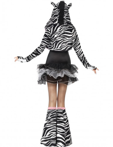 Sexy Zebra Tutu Kostüm für Erwachsene-2