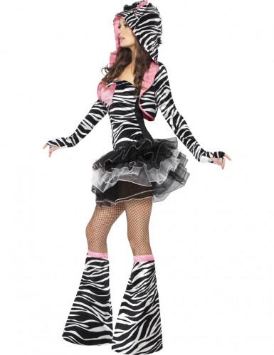 Sexy Zebra Tutu Kostüm für Erwachsene-1