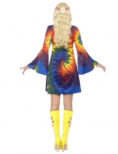 Buntes hippie Kostüm für Damen-2