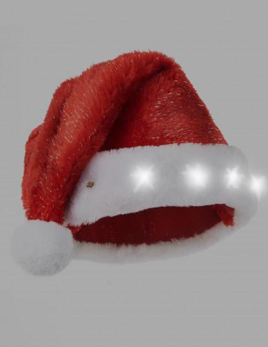 Santa Claus leuchtende Mütze für Erwachsene-1
