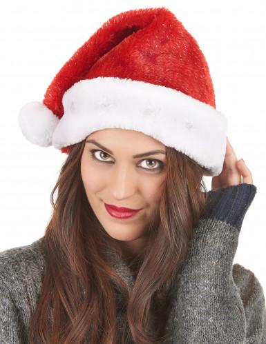 Santa Claus leuchtende Mütze für Erwachsene-2