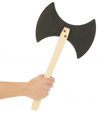 Wikinger Axt aus Holz - Größe: 45 cm-1