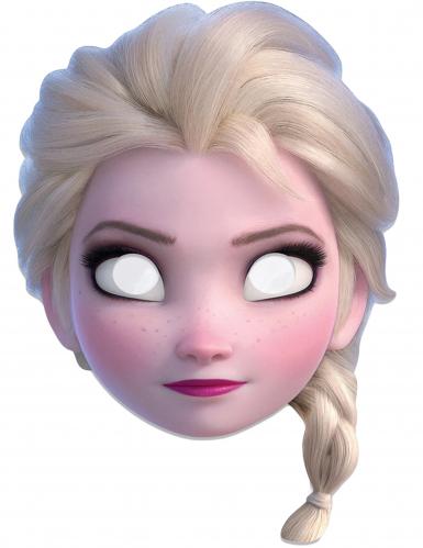 Maske Elsa Frozen™ für Mädchen