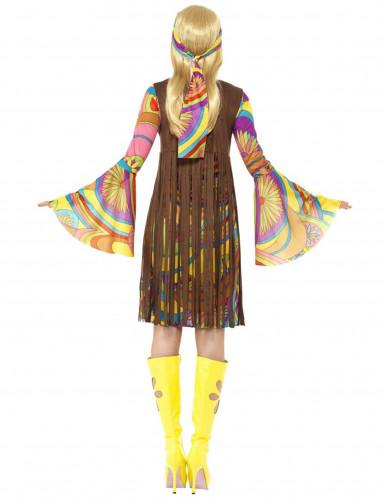 Retro Hippie Kostüm für Damen-2