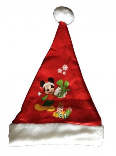 Weihnachtsmann Mütze Disney Mickey™ für Kinder