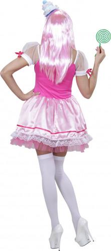 Rosa Cupcake Kostüm für Damen-1