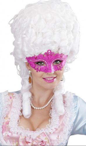 Venezianische Maske in rosa