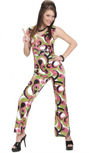 Disco-Verkleidung in Grün für Frauen