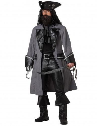 Dunkles Piratenkostüm für Erwachsene