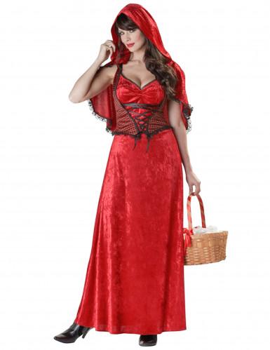Rotkäppchen-Kostüm für Erwachsene