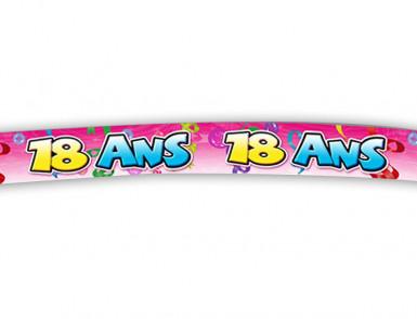 Banner zum 18. Geburtstag