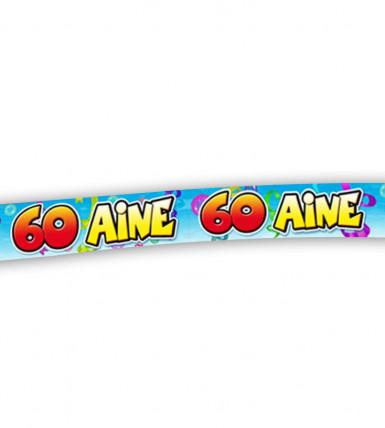 Banner zum 60. Geburtstag