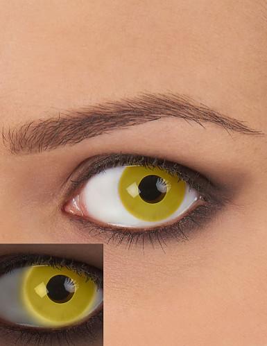 Gelbe UV Kontaktlinsen für Erwachsene
