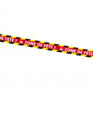 Banner mit der Aufschrift Zone de fête