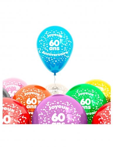 8 Ballons 60 Jahre