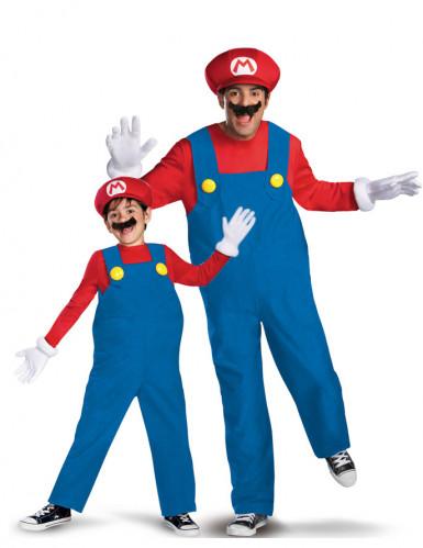 Super Mario™ Paarkostüm für Vater und Sohn