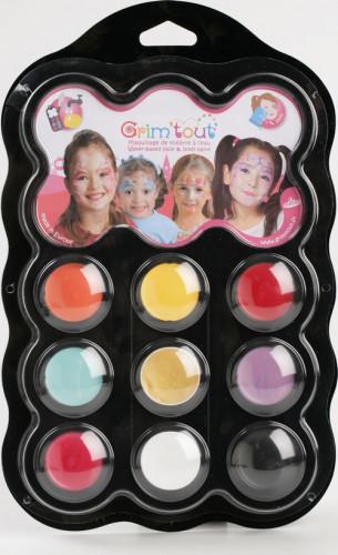 Prinzessin Schminke 9 Farben - Grim'Tout