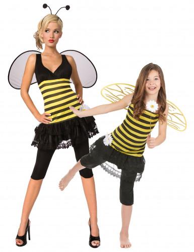 Bienen Mutter-Tochter Paarkostüm