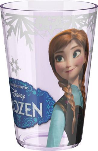 Glas mit dem Bild der Schneekönigin