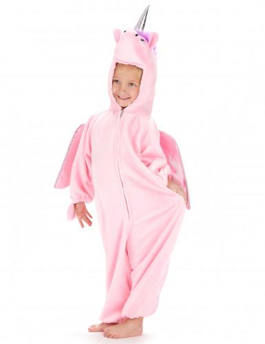 Rosa Einhorn-Kostüm für Mädchen-1