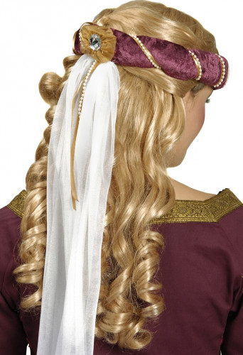Mittelalterlicher Haarkranz für Erwachsene