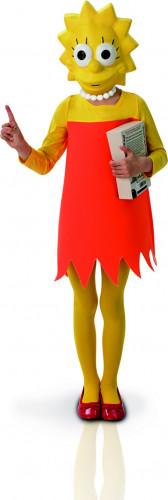 Klassisches Lisa Simpson™-Kostüm für Mädchen
