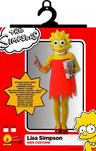 Klassisches Lisa Simpson™-Kostüm für Mädchen-1