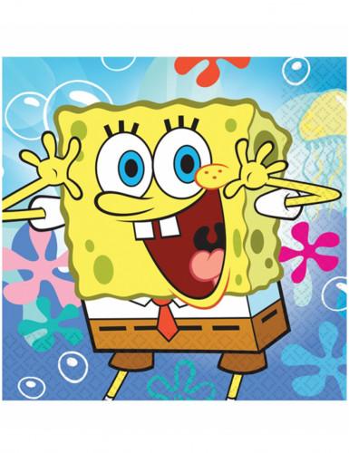 20 Papierservietten Spongebob Schwammkopf™