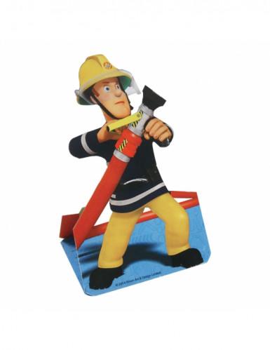 8 Einladungskarten mit Umschlag - Sam der Feuerwehrmann™