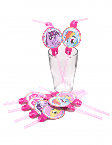 8 My little Pony Strohhalme-1