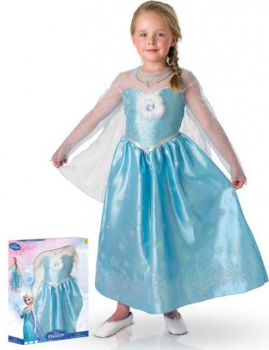 Deluxe Geschenkbox Die Eiskönigin™ Elsa-Kostüm für Mädchen