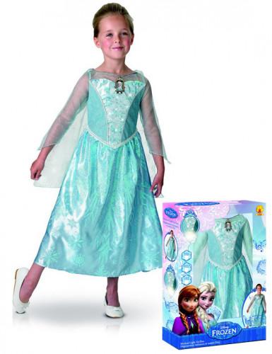 Deluxe Verkleidung Elsa Frozen™ für Mädchen