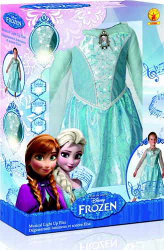 Deluxe Verkleidung Elsa Frozen™ für Mädchen-1